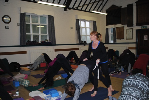 Yoga classes in Cheshire, Staffordshire, Chester, Merseyside, Wirral